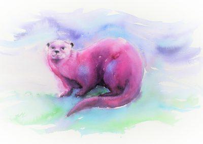 Otter als symbool voor vrouwelijke kracht