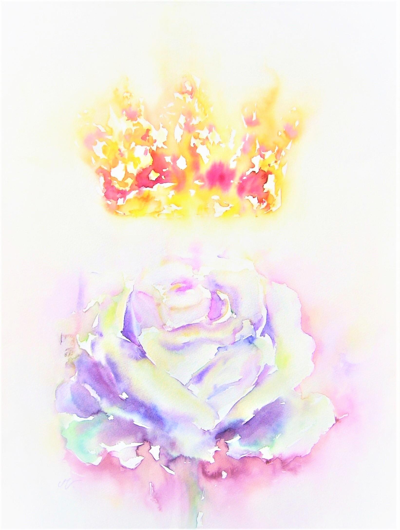 Transformatiesymbool: De Witte Roos en de Gouden Kroon