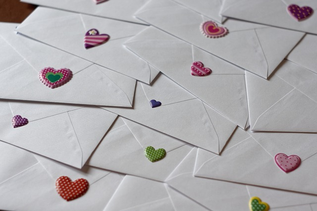 A Love letter, by Evelyn